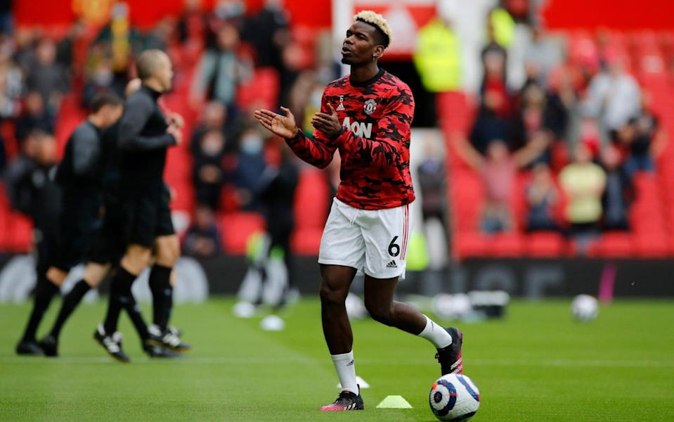 Paul Pogba salutes the fans - Getty