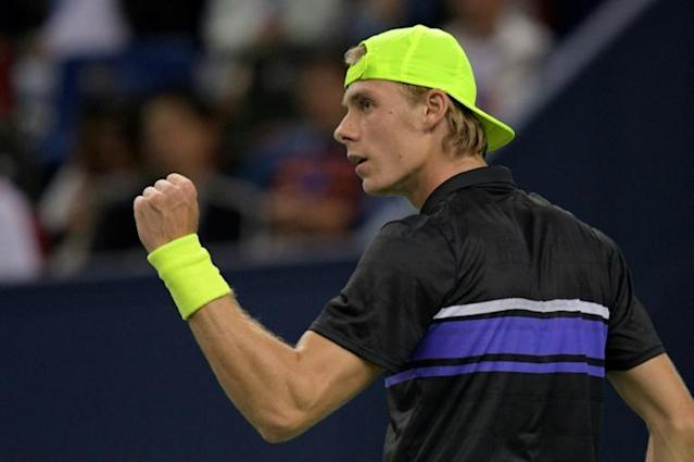 Denis Shapovalov is into his first career final at Stockholm (AFP Photo/NOEL CELIS)