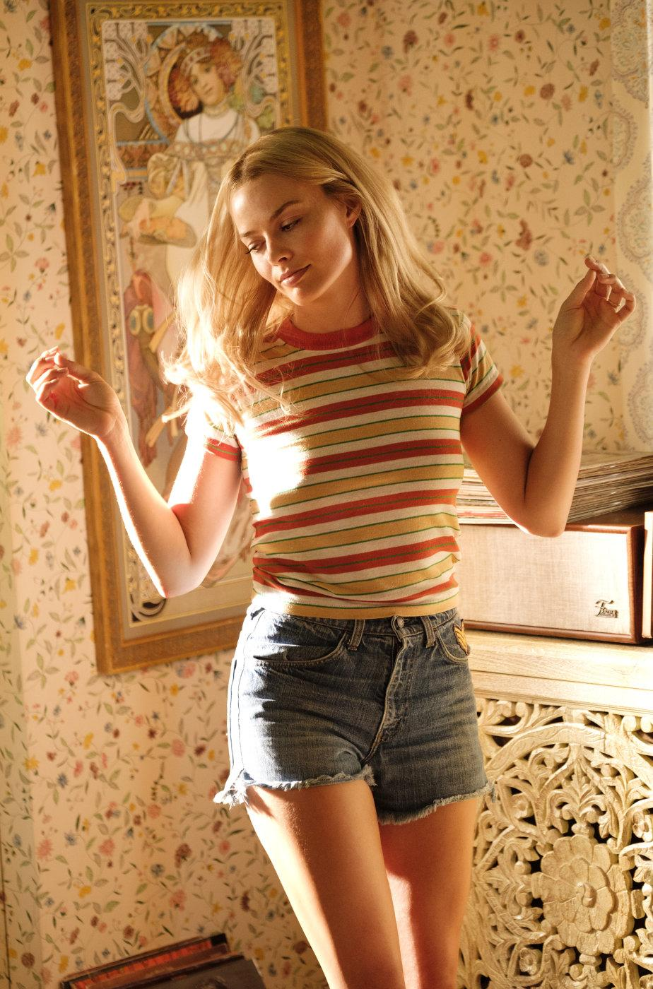 Margot Robbie in Once Upon A Time In Hollywood (Credit: Sony Pictures)