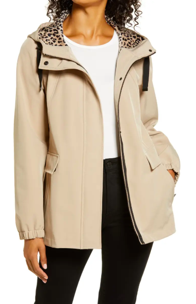 Soft Shell Rain Jacket. Image via Nordstrom.