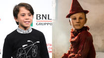 Guillermo del Toro and Robert Zemeckis are both working on new takes on the story of <em>Pinocchio</em>, with the former a stop-motion take and the latter a live-action remake of the classic Disney animation. In the original story's homeland of Italy, though, Matteo Garrone used ambitious make-up effects mixed with modern CGI to transform young star Federico Ielapi into an incredibly convincing wooden puppet. (Credit: Daniele Venturelli/WireImage/Vertigo Releasing)