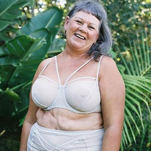 Maggie was diagnosed with incurable cancer 10 years ago. Photo: Lonely Lingerie