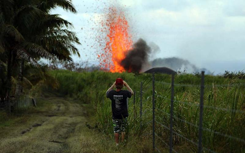 Kilauea continues to erupt violently - 2018 Getty Images