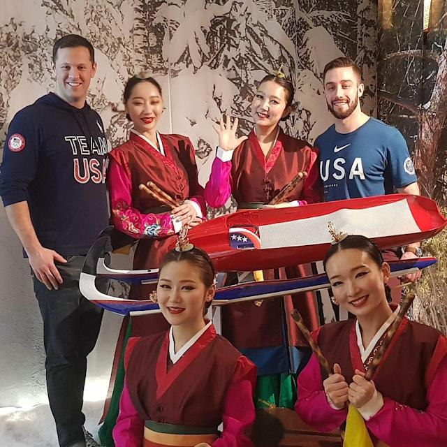<p>mmortensenusa: What an amazing night! Had such a great evening spending time with the leadership of DOW, an @olympics and USA luge sponsor. Their support of the Olympic movement has fostered and enabled the environment of sustainable competition that we now experience. Thank you for all that you do! (Photo via Instagram/mmortensenusa) </p>
