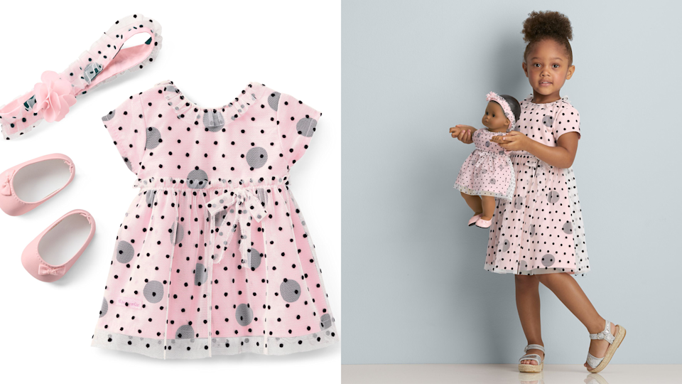 Valentine's gifts for kids: American Girl matching dresses