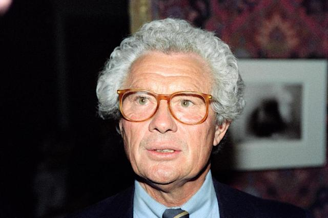 British photographer David Hamilton, known for his widely published nude images of underage girls, was found in a state of cardiac arrest at his Parisian home late on November 25 and declared dead an hour later (AFP Photo/Pierre Guillaud)