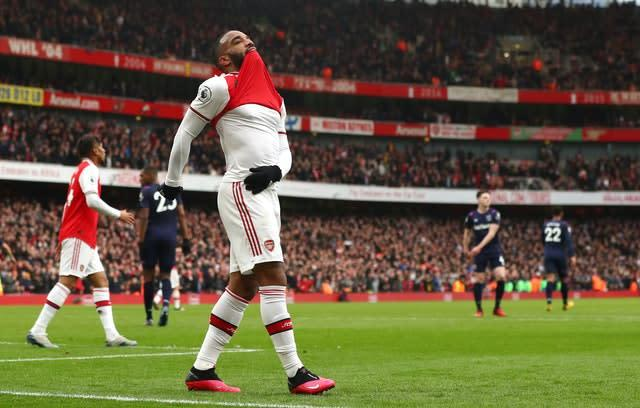 Arsenal's Alexandre Lacazette could be off to Inter Milan (Bradley Collyer/PA)