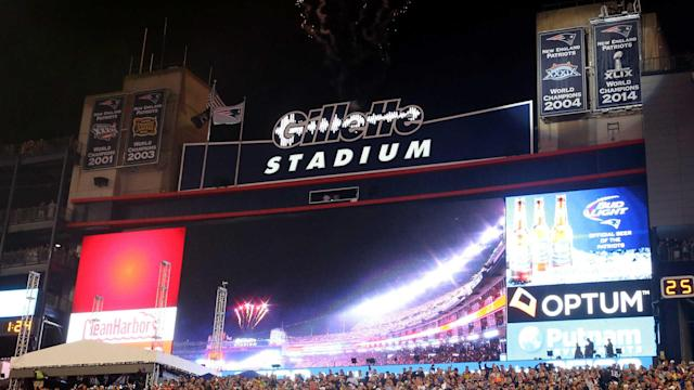 Fifteen years after Gillette Stadium opened, the Patriots have to find a way to squeeze a fifth Super Bowl banner above the south end zone.