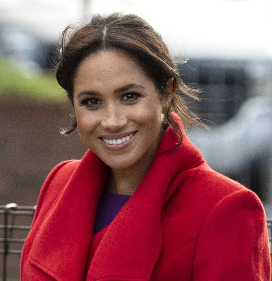 AUGUST 4th 2021: Duchess Meghan of Sussex celebrates her 40th birthday. She was born Rachel Meghan Markle in Los Angeles, California on August 4th 1981. - File Photo by: zz/KGC-178/STAR MAX/IPx 2019 1/14/19 Meghan The Duchess of Sussex visits the town of Birkenhead, Merseyside on January 14, 2019. (England, UK)
