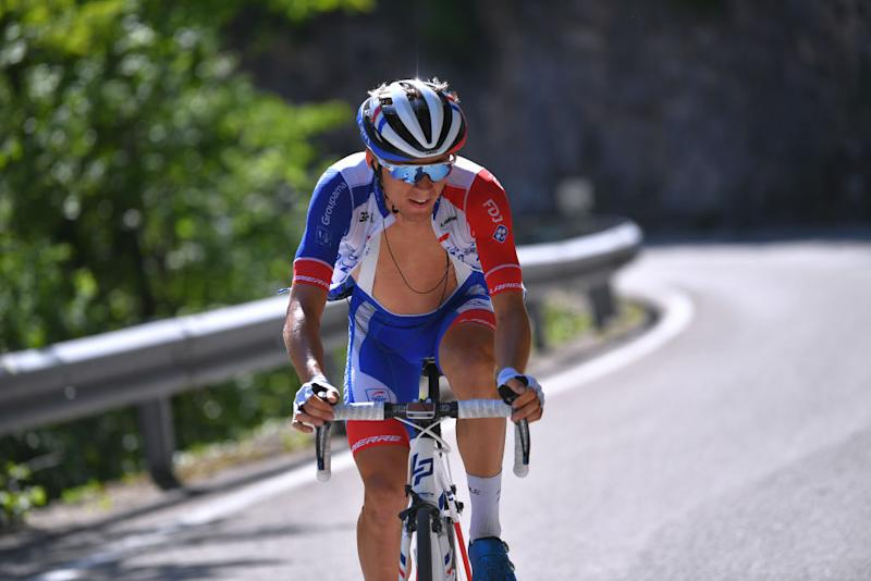 Groupama-FDJ's Valentin Madouas finished 13th overall on his Grand Tour debut at the 2019 Giro d'Italia