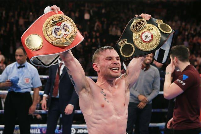 Carl Frampton unified the super-bantamweight division and is a former world featherweight champion (Nick Potts/PA)
