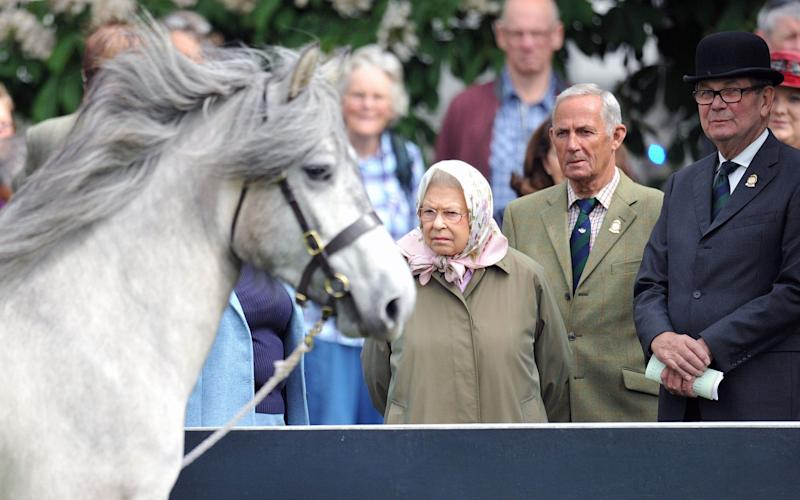 Queen Elizabeth II at the Royal Windsor Horse Show - PA