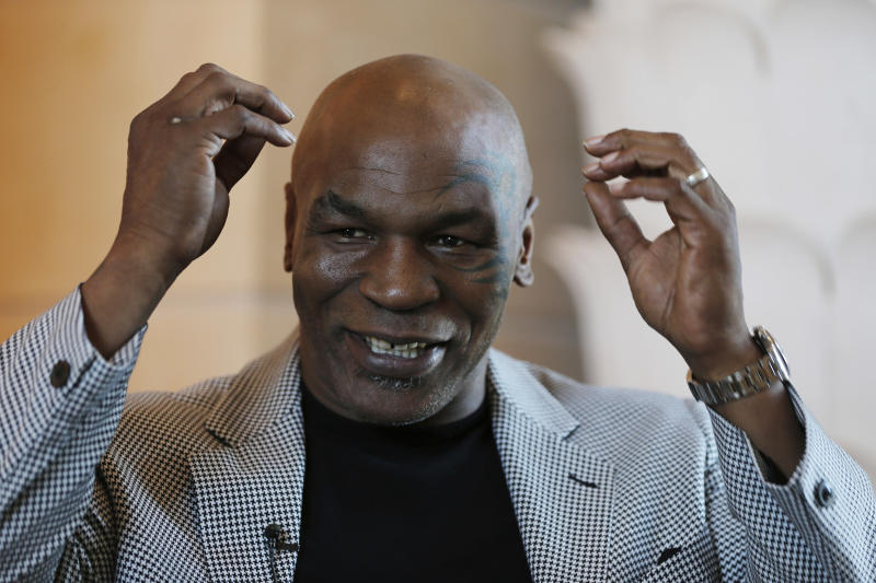 Mike Tyson breaks ground on California marijuana ranch