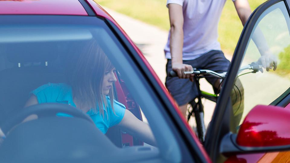 Drivers and passengers are potentially putting cyclists at risk whenever they open their car door. Source: Getty Images