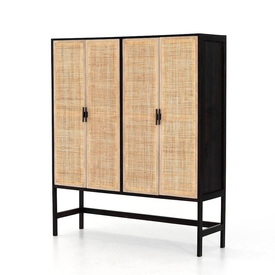 "<p>myshopify.com</p><p><strong>$2715.00</strong></p><p><a href=""https://eclectic-home-new-orleans.myshopify.com/collections/furniture/products/moody-cabinet"" rel=""nofollow noopener"" target=""_blank"" data-ylk=""slk:Shop Now"" class=""link rapid-noclick-resp"">Shop Now</a></p><p>You can find anything from quirky pieces like a ceramic daschund wearing a striped sweater to more streamlined casegoods at the New Orleans shop.</p>"