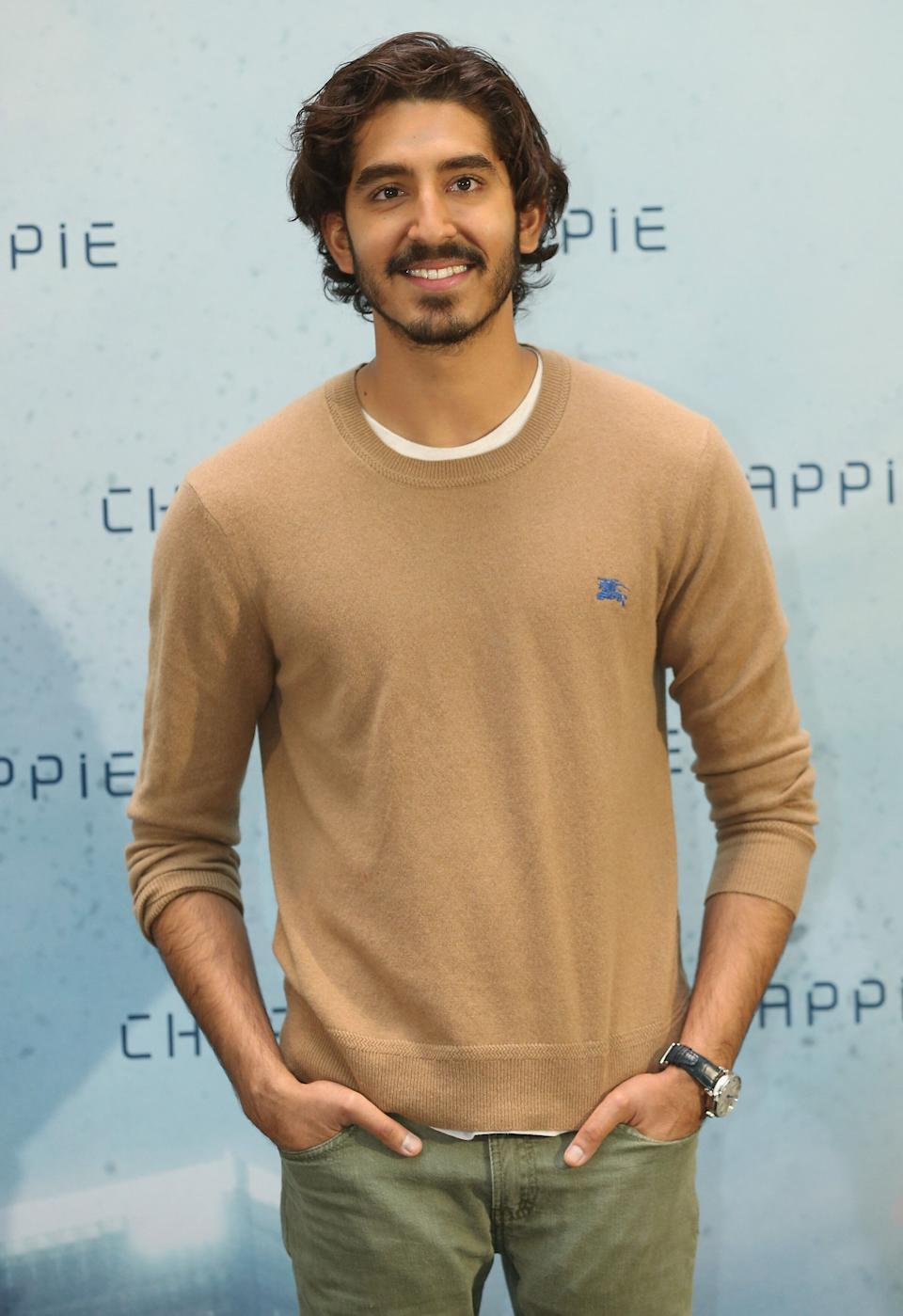 "Patel at a photo call for the film ""Chappie"" at Hotel De Rome in Berlin on Feb. 27, 2015."