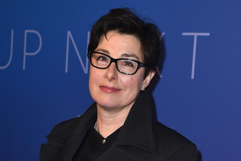 LONDON, UNITED KINGDOM - FEBRUARY 12, 2020: Sue Perkins attends the SKY TV, Up Next Event at Tate Modern in London.- PHOTOGRAPH BY James Warren / Echoes Wire/ Barcroft Media (Photo credit should read James Warren / Echoes Wire/Barcroft Media via Getty Images)