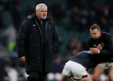 Rugby Union - Six Nations Championship - England vs Wales - Twickenham Stadium, London, Britain - February 10, 2018 Wales head coach Warren Gatland during the warm up before the match Action Images via Reuters/Paul Childs