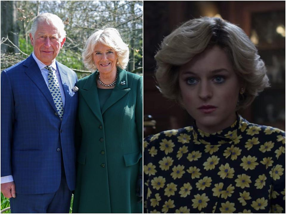 charles and camilla, the crown
