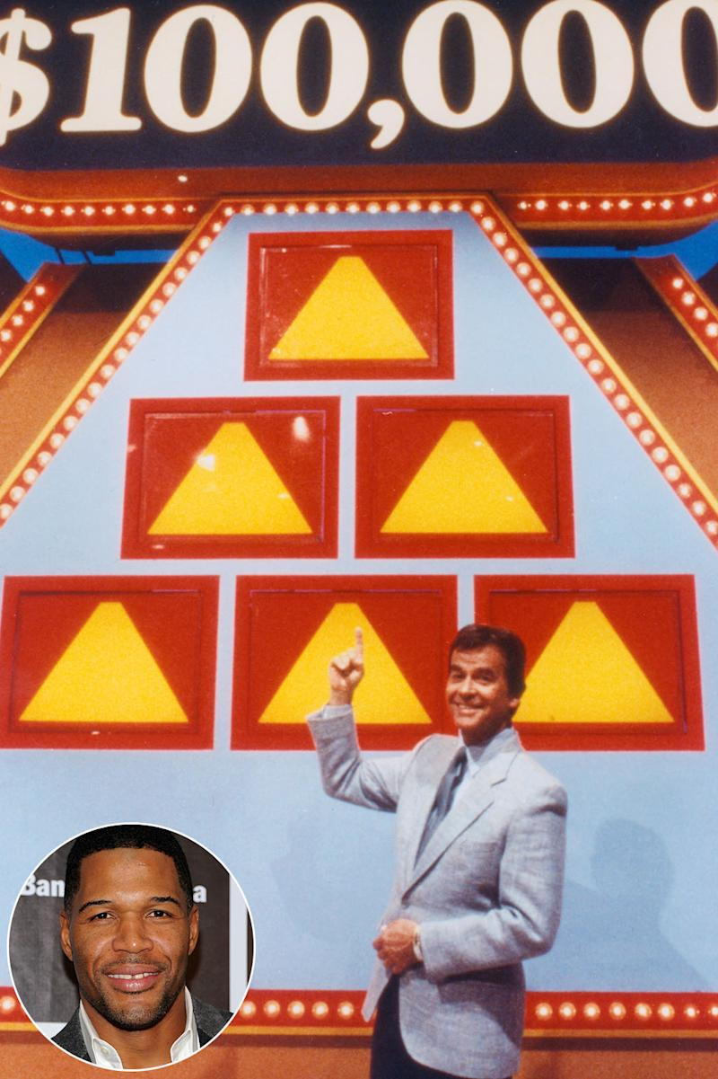 new $100 000 pyramid michael strahan