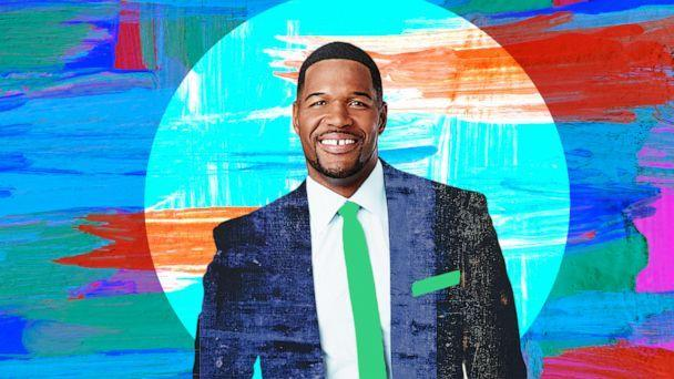 """Michael Strahan is co-anchor of ABC's """"Good Morning America.' (ABC News Photo Illustration)"""