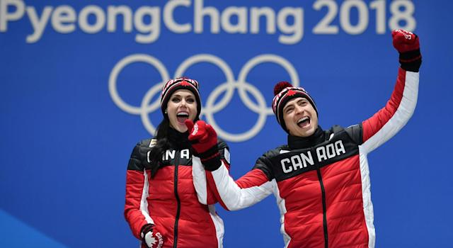 Virtue and Moir proved to be golden once more (Getty Images)