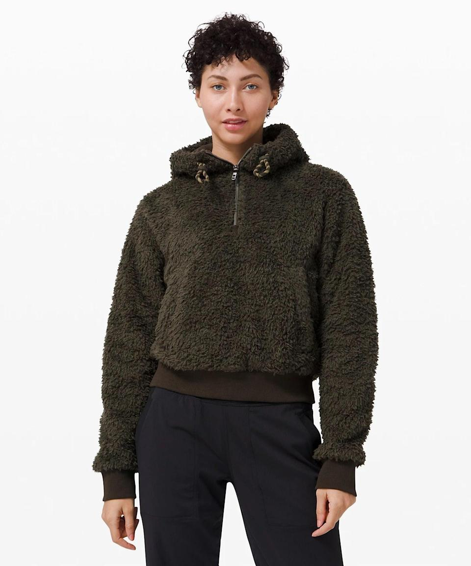 <p>Chances are, you'll wear the <span>Lululemon Oh So Sherpa Half Zip</span> ($138) way more than just on your yoga mat - read: all the time. But when you <em>do</em> plan to work through a flow, zip it up to stay toasty on your walk over to the park or simply during those first few warmup poses in your practice.</p>