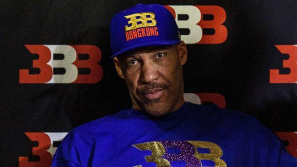 PHOTO: LaVar Ball, father of basketball player LiAngelo Ball and the owner of the Big Baller brand, attends a promotional event in Hong Kong, Nov. 14, 2017.<p>(Anthony Wallace/AFP/Getty Images)
