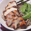 """<p>Soy sauce, mirin, brown sugar, garlic and ginger combine in this teriyaki-inspired marinade for grilled chicken. Try it with pork chops if you prefer. Grill fresh pineapple slices and asparagus alongside for simple side dishes. <a href=""""http://www.eatingwell.com/recipe/250291/teriyaki-marinated-chicken/"""" rel=""""nofollow noopener"""" target=""""_blank"""" data-ylk=""""slk:View recipe"""" class=""""link rapid-noclick-resp""""> View recipe </a></p>"""