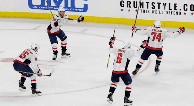 The Washington Capitals are Stanley Cup champions at last. (Getty)
