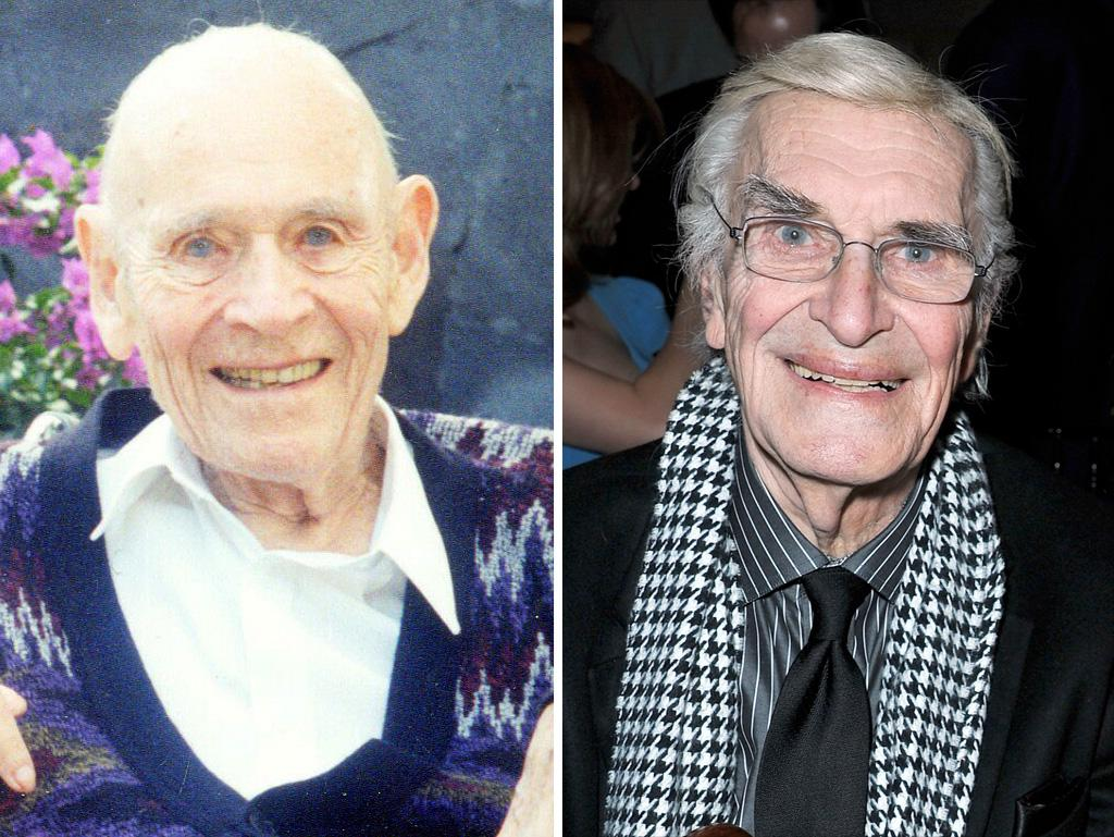 J. Howard Marshall II and Martin Landau