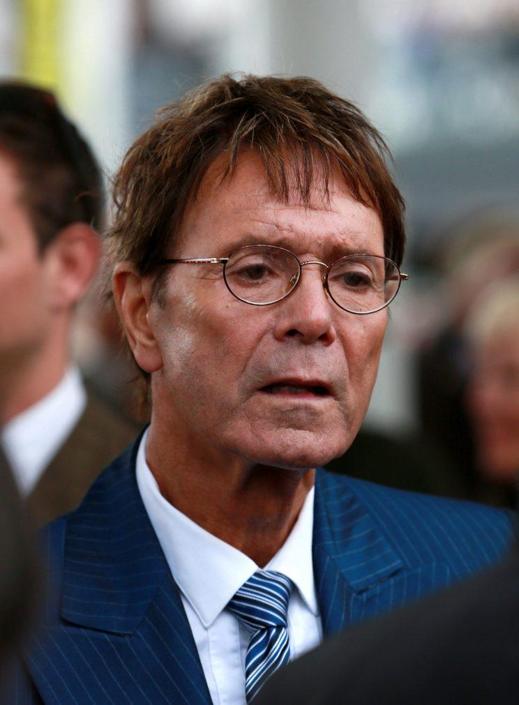 Cliff Richard pictured in 2014
