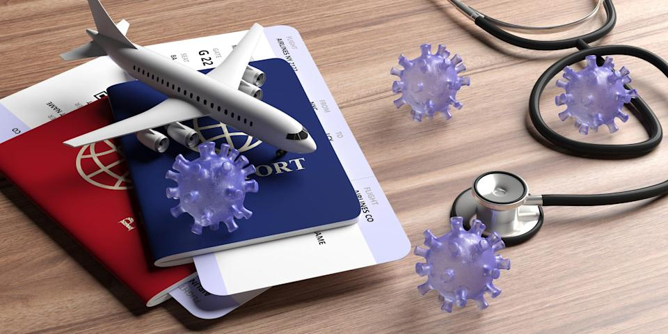 Having all your travel documents in order – including proof of vaccination and/or COVID tests performed within the prescribed window – can help lower your stress level.
