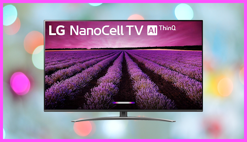 Save $399 on this LG Nano 8 Series 55-inch 4K Ultra HD Smart LED NanoCell TV. (Photo: Amazon)