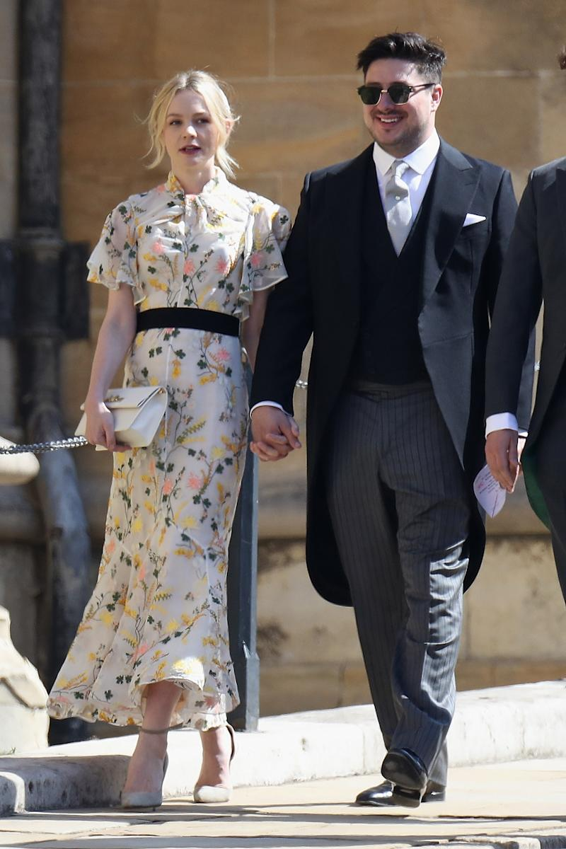 WHO: Carey Mulligan WHAT: Erdem WHERE: At the royal wedding, Windsor, England WHEN: May 19, 2018