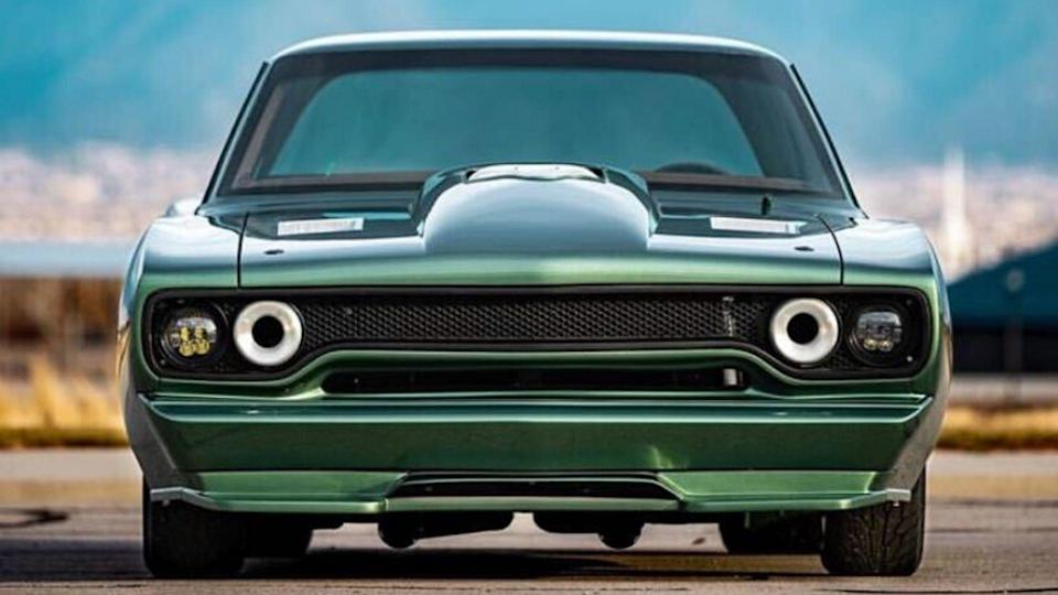 A Hellcat Powers This 1970 Plymouth Sport Satellite