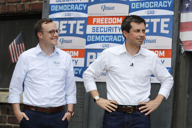 Chasten Buttigieg goes from opening act to fundraising star