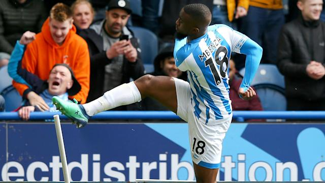 Isaac Mbenza struck on the hour to cancel out Scott McTominay's opener and earn Huddersfield Town a 1-1 draw against Manchester United.