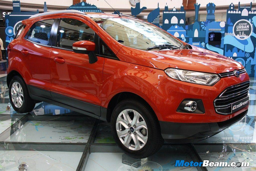 ford unveils ecosport production version. Black Bedroom Furniture Sets. Home Design Ideas