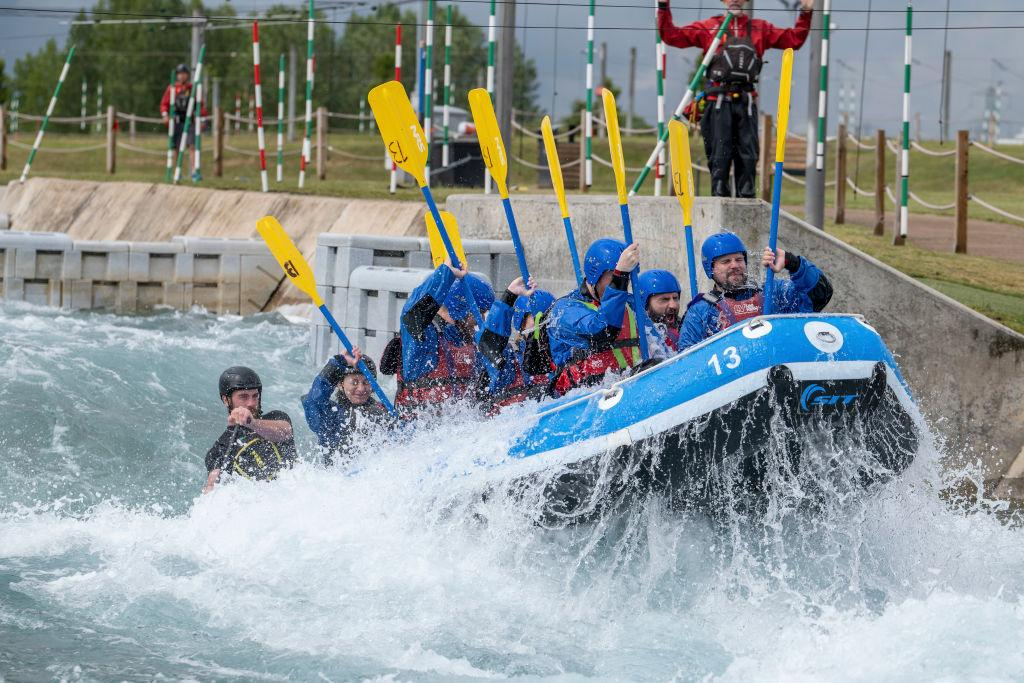 "There's nothing quite like navigating fast-flowing rapids in an inflatable raft to get the adrenaline pumping. <a href=""https://www.gowhitewater.co.uk/"">Lee Valley</a> is super quick and easy to access from London – and yet you'll feel a world away from the concrete jungle as you paddle. The centre runs canoeing and kayaking courses for all abilities, with group rafting packages available from £50pp. Travel time: 25 minutes (train from London Liverpool Street to Waltham Cross) <em>[Photo: Getty]</em>"