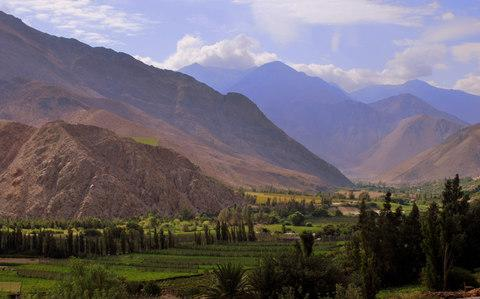 Wine country: the glorious Elqui Valley - Credit: Getty