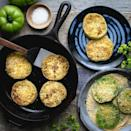 <p>The perfect way to use up those lingering green tomatoes.</p>