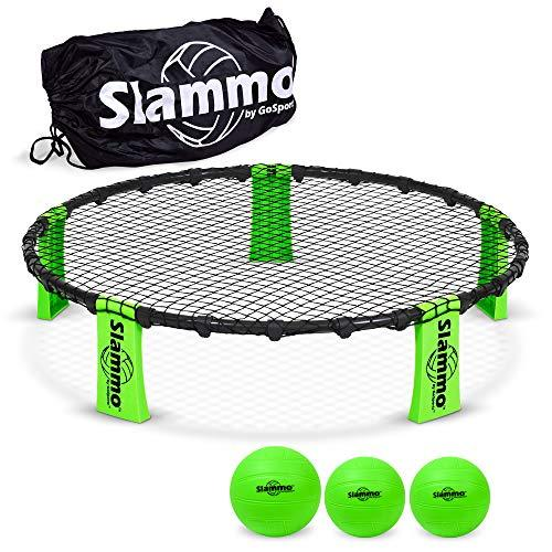 GoSports Slammo Game Set (Includes 3 Balls, Carrying Case and Rules) (Amazon / Amazon)