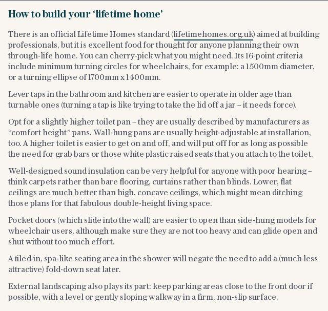 How to build your 'lifetime home'