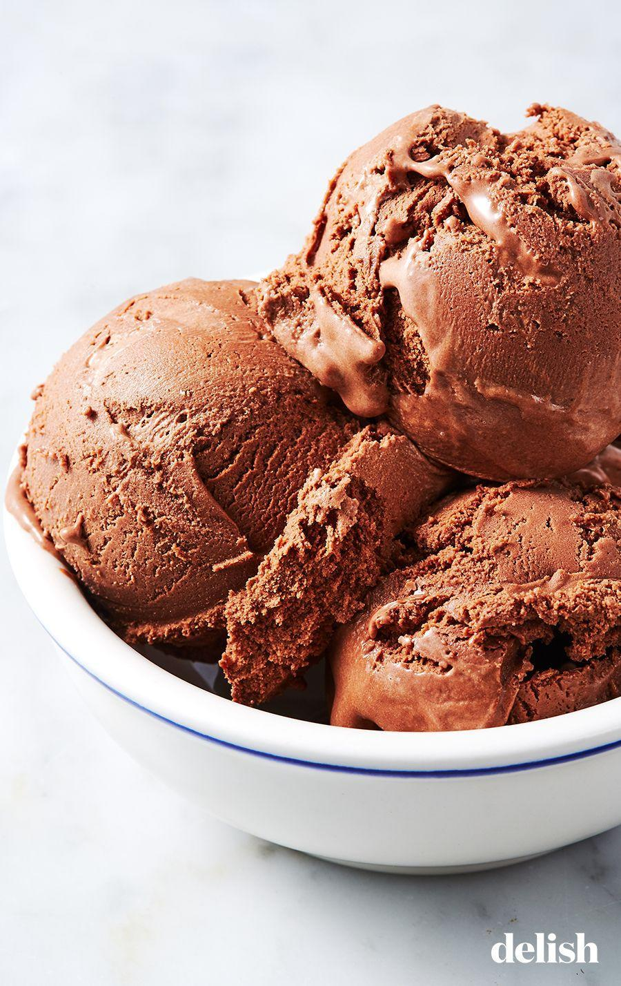 """<p>This is the RICHEST chocolate ice cream ever.</p><p>Get the recipe from <a href=""""https://www.delish.com/cooking/recipe-ideas/a26977162/chocolate-ice-cream-recipe/"""" rel=""""nofollow noopener"""" target=""""_blank"""" data-ylk=""""slk:Delish"""" class=""""link rapid-noclick-resp"""">Delish</a>.</p>"""