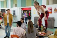 """<p>In the late 1990s, a rivalry between a high school drama club and the AV club erupts into typical teen shenanigans.</p> <p><a href=""""http://www.netflix.com/title/80117551"""" class=""""link rapid-noclick-resp"""" rel=""""nofollow noopener"""" target=""""_blank"""" data-ylk=""""slk:Watch Everything Sucks! on Netflix now."""">Watch <strong>Everything Sucks!</strong> on Netflix now.</a></p>"""