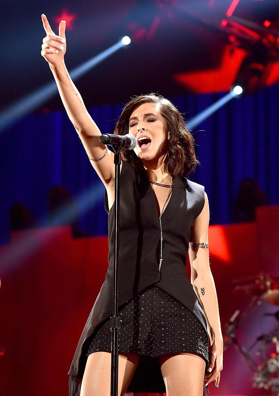 Christina Grimmie was a pop singer and YouTube star who made the top three of 'The Voice' Season 6. On June 10, she was gunned down by a stalker while signing autographs after a concert in Orlando. She was 23. (Photo: Getty Images)