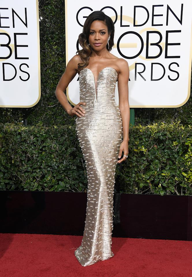 <p>Wearing custom Armani Prive. <em>[Photo: Getty]</em> </p>