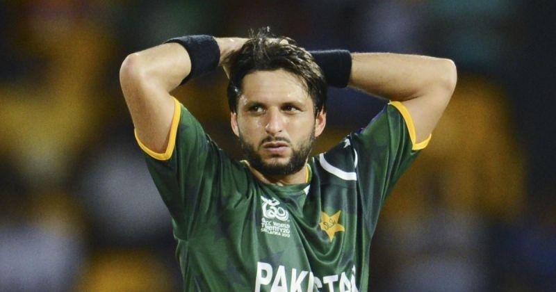 Former captain Shahid Afridi played only 27 Test matches for Pakistan