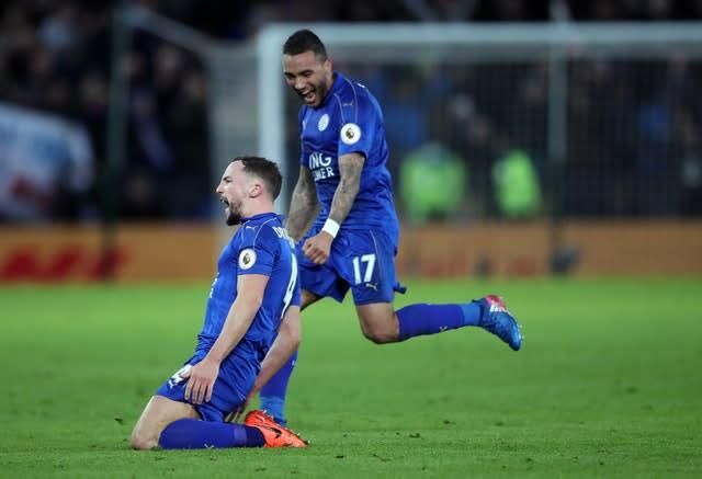 Drinkwater, left, caught the eye at Leicester (Nick Potts/PA)